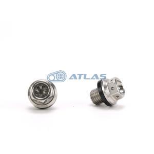 メール便対応可 JSM ☆Star Bolt CNC加工 ヘキサゴンヘッド SUS マグネット付きドレン ボルト(ドレイン プラグ)M12×14mm P1.5|atlas-parts
