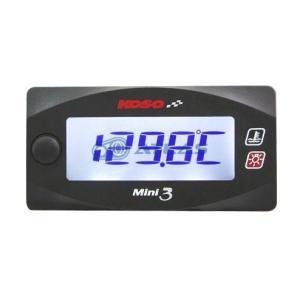 KOSO Mini3デジタル ヘッド水温計 マジェスティS(MAJESTY S) S-MAX FORCE155用|atlas-parts