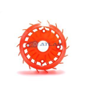 CROSS DOCK 軽量クーリングファン オレンジ|atlas-parts