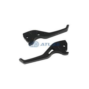 NCY 4TH シグナス用CNC アルミショートブレーキレバー ブラック|atlas-parts