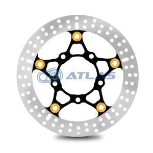 RPM CYGNUS X シグナスX マジェスティS ブレーキディスク 245mm ゴールドピン|atlas-parts
