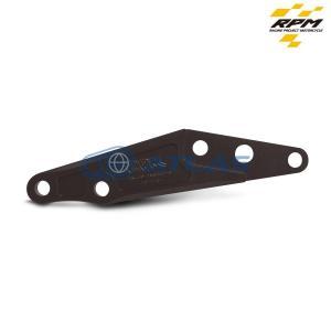 RPMフロントフォーク専用 SO-BK4A3 BW`S X 245mmディスク用 ブレンボ40mmピッチキャリパーサポート チタン|atlas-parts
