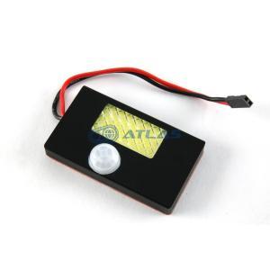汎用 人感センサー付きメットインLEDライト ブラックボディ|atlas-parts
