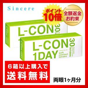 コンタクトレンズ ワンデー L-CON 1DAY エルコンワンデー 2箱セット 1日使い捨てコンタクトレンズ