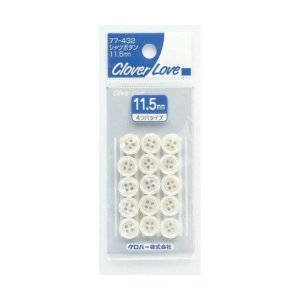 CL77432 シャツボタン 11.5ミリ ( 4901316774325 )|atlife-shop