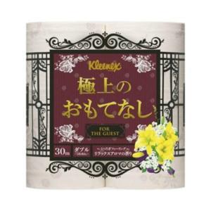 日本製紙クレシア クリネックス 極上のおもてなし ( ダブル ) 4ロール ( トイレットペーパー4RW )|atlife-shop