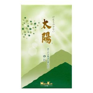日本香堂 太陽 ゆり バラ詰 190g 線香|atlife-shop