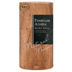 エステー 消臭力 トイレ用 プレミアム アロマ Premium Aroma ラスティックリラックス 400ml|atlife-shop