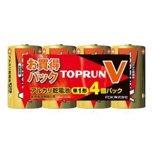 FDK アルカリ 乾電池 単1形×4個パック LR20(4S)TOPV2|atlife-shop