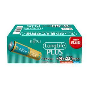 FDK FUJITSU Long LifePLUS ロング ライフプラス アルカリ 乾電池 LR6LP(40S) 単3形 40個パック|atlife-shop
