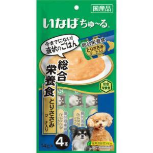 いなば ちゅ〜る 総合栄養食 とりささみ ツナ入り 14g×4本|atlife-shop
