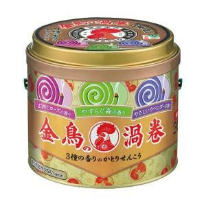 金鳥の渦巻 3種の香りのかとりせんこう 30巻入(缶)|atlife-shop