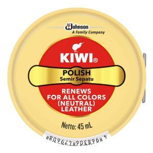 【メール便送料無料】 ジョンソン KIWI 油性靴クリーム 全色対応 45ml 1個|atlife-shop