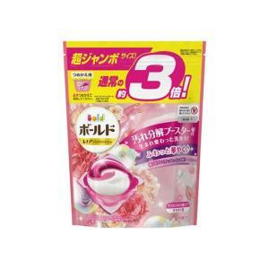 【送料無料・まとめ買い×3個セット】P&G ボールド ジェルボール 3D 癒しのプレミアムブロッサムの香り つめかえ用 超ジャンボサイズ 46個入|atlife-shop
