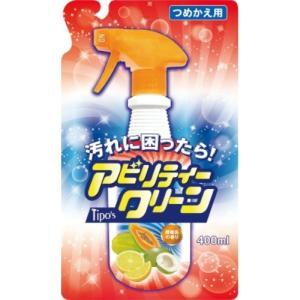 友和 Tipo's アビリティークリーン 柑橘系の香り 詰替 400ml 1個|atlife