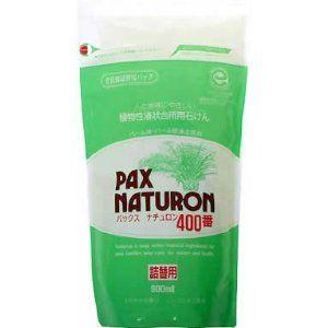 太陽油脂 パックスナチュロン 400番 詰め替え 900ml (食器用液状洗剤)