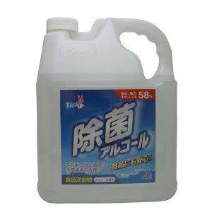 友和 ティポス ティポス 除菌アルコール 4L 食品添加物・エタノールの消毒・除菌スプレー(4516825003431)