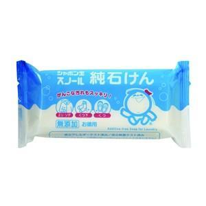 JAN:4901797032105  洗濯用石鹸/固形洗濯石鹸  洗浄力が高く、がんこな汚れもスッキ...