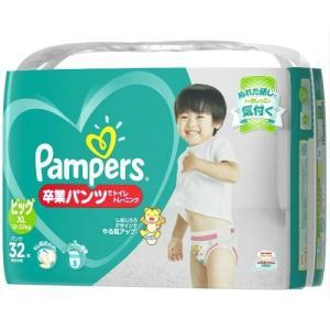 P&G パンパース(Pampers) 卒業パンツ BIG 32枚入り(トニーニングパンツ) atlife