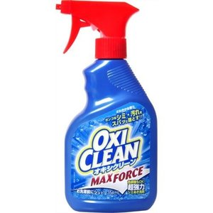 オキシクリーン マックスフォース 354ml 本体 スプレータイプ ※シミぬきに特化した油汚れまでも落とす万能シミぬき洗剤 atlife