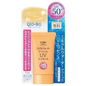 資生堂 専科 ミネラルウォーターでつくったUVエッセンス SPF50+・PA++++ 顔・からだ用 50g (紫外線・UV対策・日焼け止め)の画像
