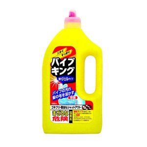 カネヨ石鹸 パイプキング 強力ジェルタイプ 1000ml 排水口・パイプ用液体洗剤 大容量タイプ(4901329220239)|atlife