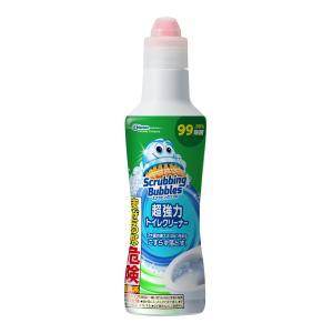 ジョンソン スクラビングバブル 強力トイレクリーナー 400G 本体(トイレ用洗浄剤 掃除)(4901609005440)|atlife
