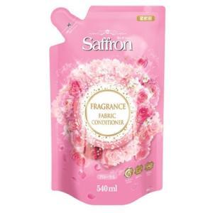 サフロン フローラルの香り 詰替 540ml 香りが長続きする柔軟剤詰め替えタイプ トイレタリージャパン (4985275795027) atlife