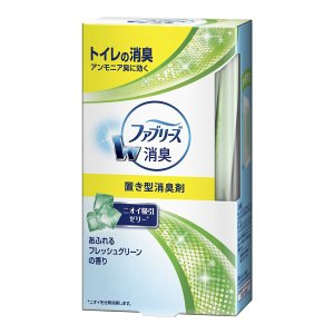 P&G トイレの置き型ファブリーズ フレッシュグリーンの香り 130g(4902430277365)|atlife