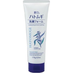 熊野油脂 麗白 ハトムギ洗顔フォーム 170g 1個|atlife
