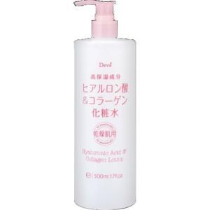 熊野油脂 ディブ ヒアルロン酸 & コラーゲン 化粧水 500ml 1個|atlife
