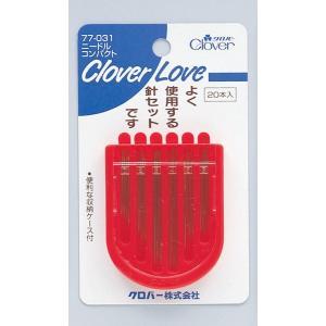 クロバー(Clover) ニードルコンパクト 20本 CL77031 (4901316770310) atlife