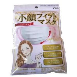昭和紙工 小顔 フィットマスク 小さめサイズ 7枚入 1個|atlife
