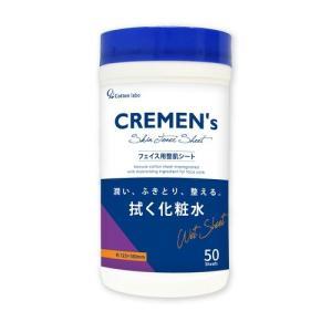 コットンラボ CREMEN's クレメンズ  スキン トナーシート フェイス用 製肌シート 50枚入  1個|atlife