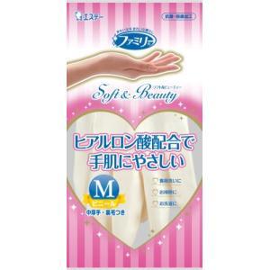 エステー ファミリー Soft&Beauty ヒアルロン酸 M ホワイト(4901070712021)|atlife