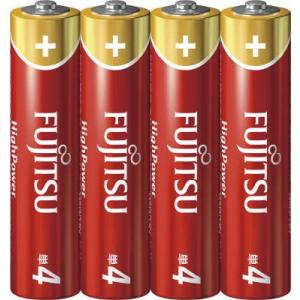 富士通(FUJITSU) HighPowerー単4・4個 LR03FH(4S)【44G】(4976680275204)|atlife