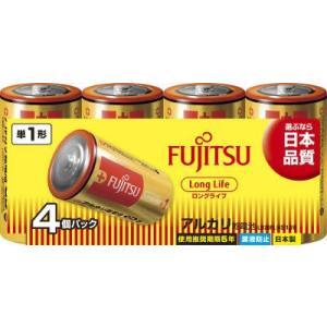 富士通(FUJITSU) LongLifeー単1・4個 LR20FL(4S)【516G】(4976680276003)|atlife
