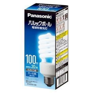 パナソニック(Panasonic) 電球形蛍光ランプ D100形・クール色(昼光色) Panasonic パルックボール EFD25ED|atlife
