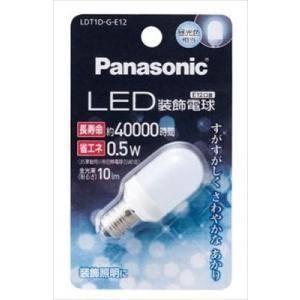 パナソニック(Panasonic) LED装飾電球 T形タイプ 昼光色LDT1DGE12(内容量: 1個)|atlife