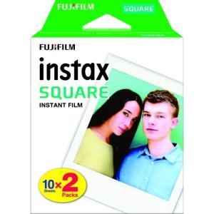 フジフィルム スクエアフィルム INSTAX SQUARE WW 2 10枚入×2パック 1個|atlife
