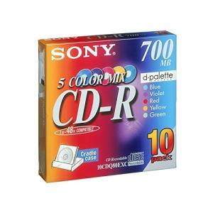 ソニー(SONY) CD-R カラー10P 10CDQ80EXC|atlife