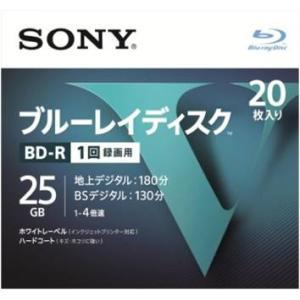 ソニー(SONY) ブルーレイディスク R4倍速1層 Vシリーズ 20BNR1VLPS4 20枚入 (4548736037243)|atlife
