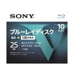 ソニー(SONY) ブルーレイディスク R4倍速1層 Vシリーズ 10BNR1VLPS4 10枚入 (4548736037236)|atlife