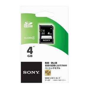 ソニー(SONY) SDカード 4GB SF−4BF (4905524956795)|atlife