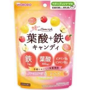 商品名:ママスタイル 葉酸+鉄キヤンデイ78G 内容量:78g ブランド:ママスタイル 原産国:日本...