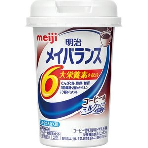 meiji 明治 メイバランス MINIカップ コーヒー味 125ML (49721003)