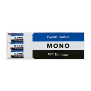 トンボ鉛筆 MONO box モノ・ボックス 消しゴム PE-01A 18個入  1個|atlife