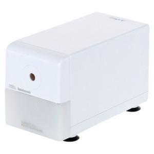 ナカバヤシ 電動 鉛筆削り器 スリムタイプ ホワイト  1318-DPS-211W 1個|atlife