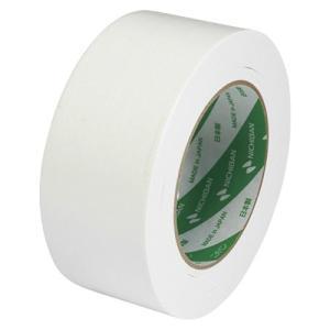 ニチバン 布粘着 カラー テープ 50mm×25m 白 102N5-50 1個 atlife