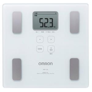 商品名:オムロンヘルスケア カラダスキャン 体重体組成計 HBF-214 W(ホワイト) 内容量:1...